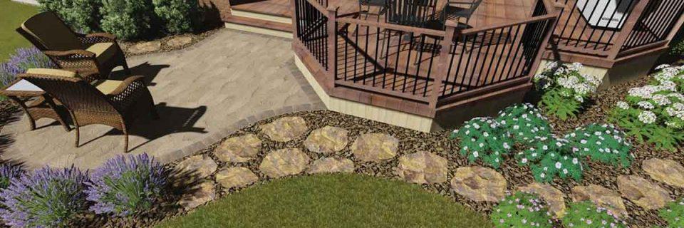 3D Rendering Landscape Design