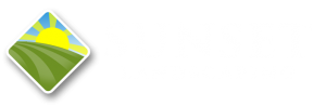 sunset landscaping logo